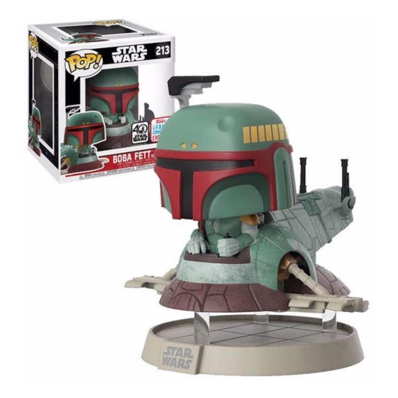 Boba Fett with Slave One