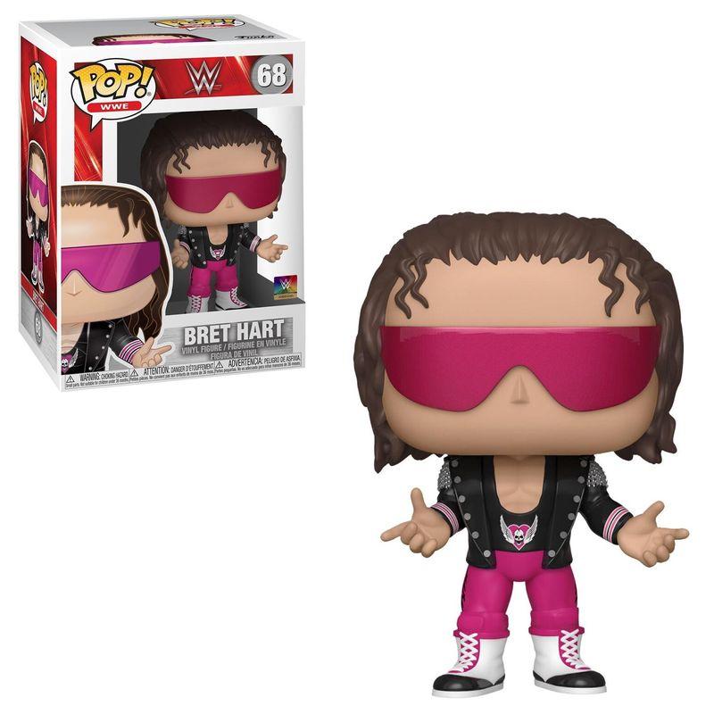 """Bret """"Hit Man"""" Hart (Pink)"""