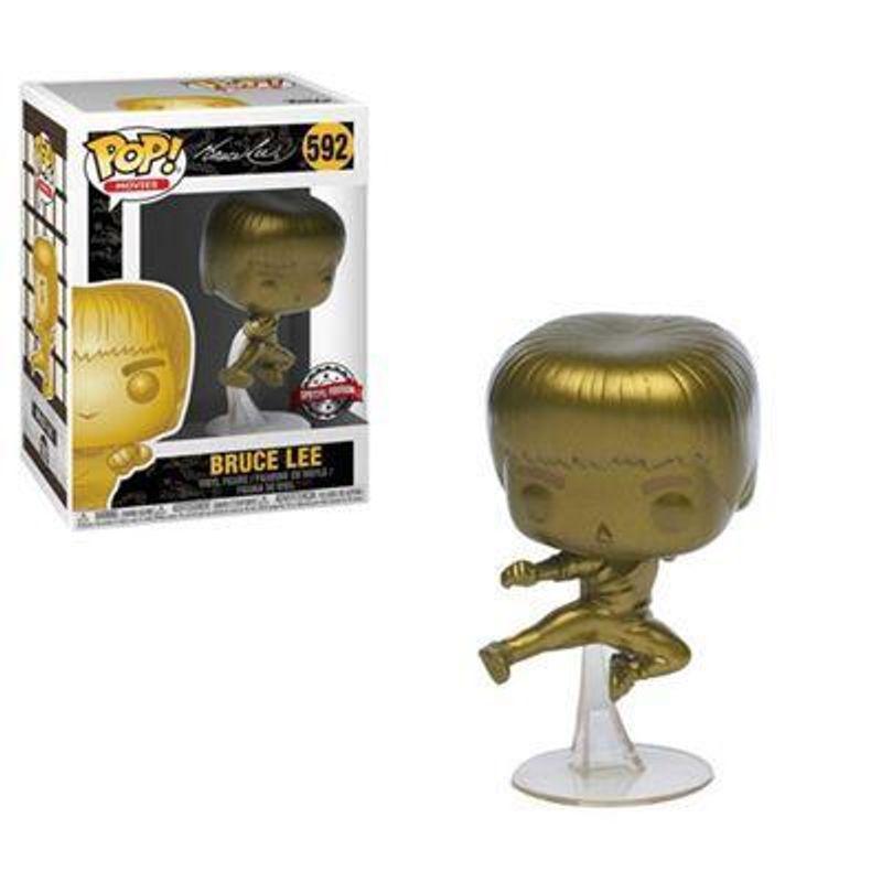 Bruce Lee (Flying Man) (Gold)