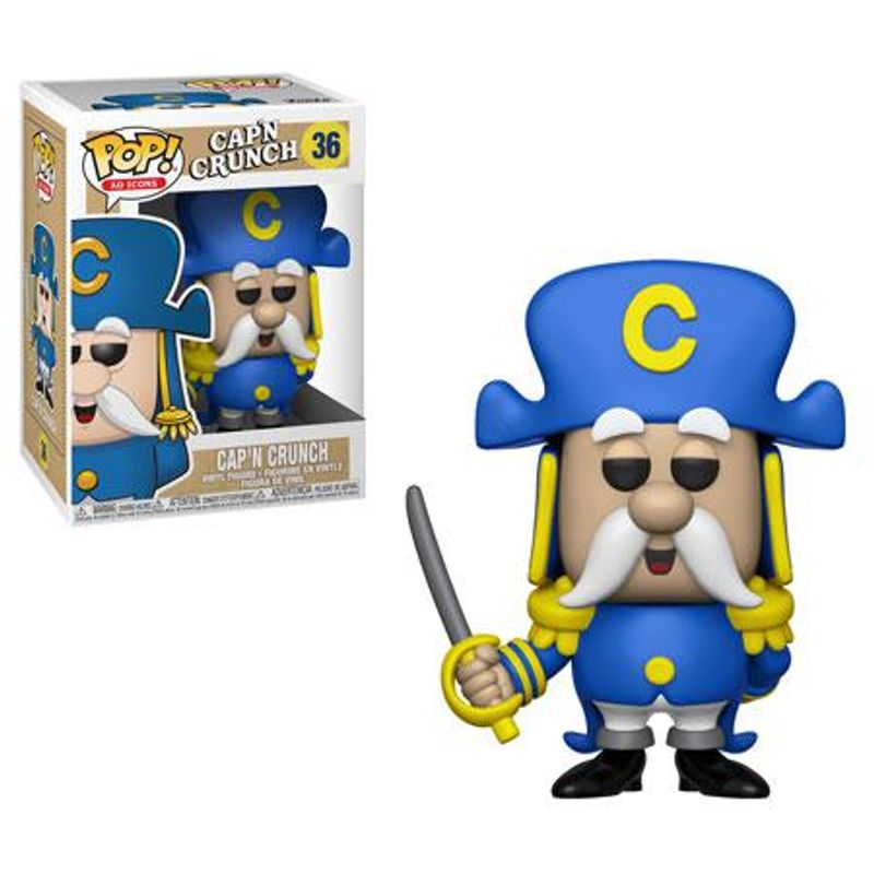 Cap'n Crunch (w/ Sword)