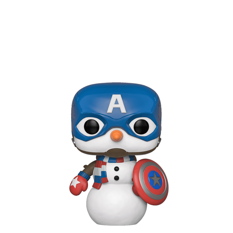 Cap Snowman