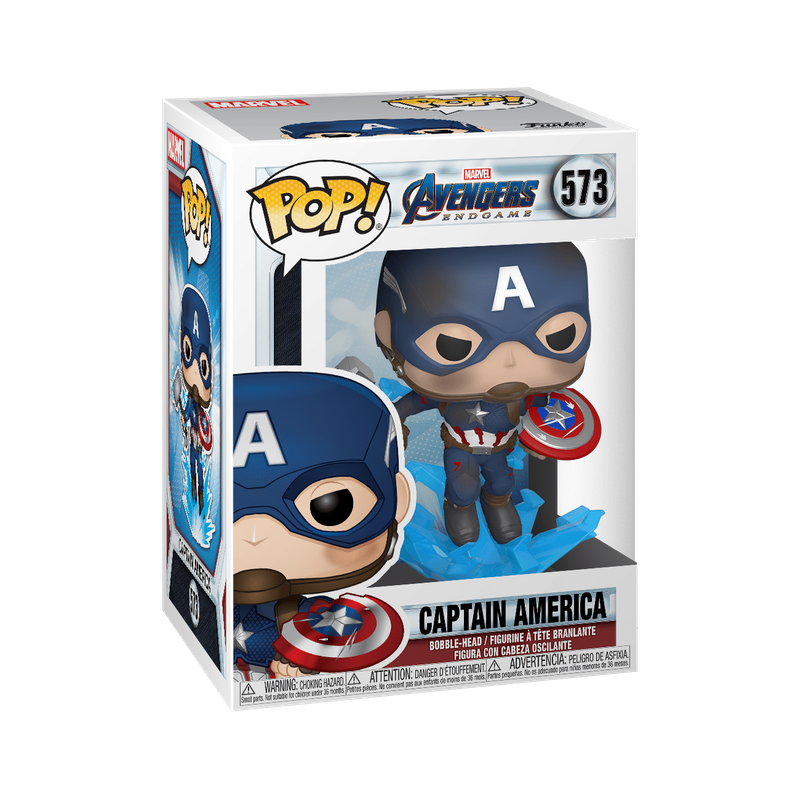 Captain America (with Electrified Mjolnir and Broken Shield)