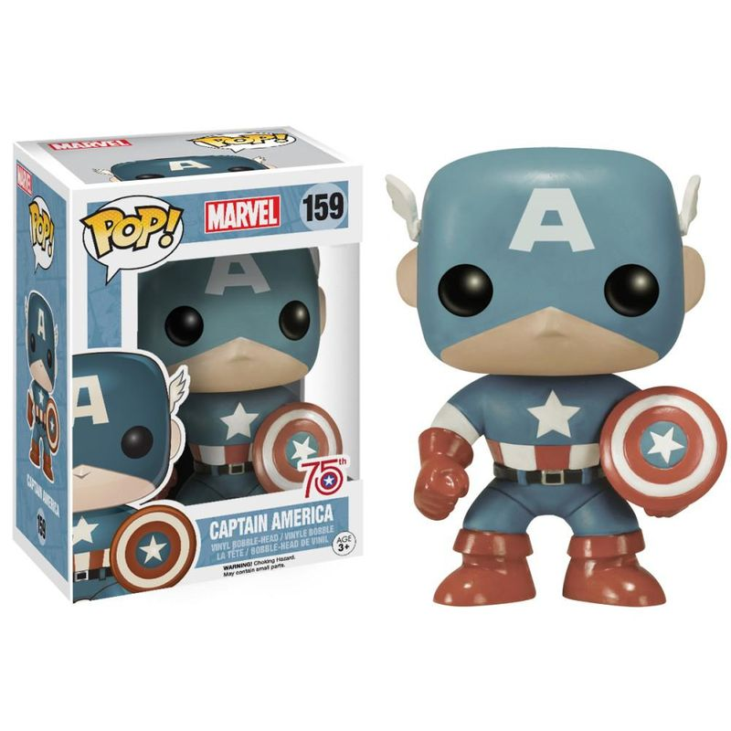 Captain America (Light Blue)