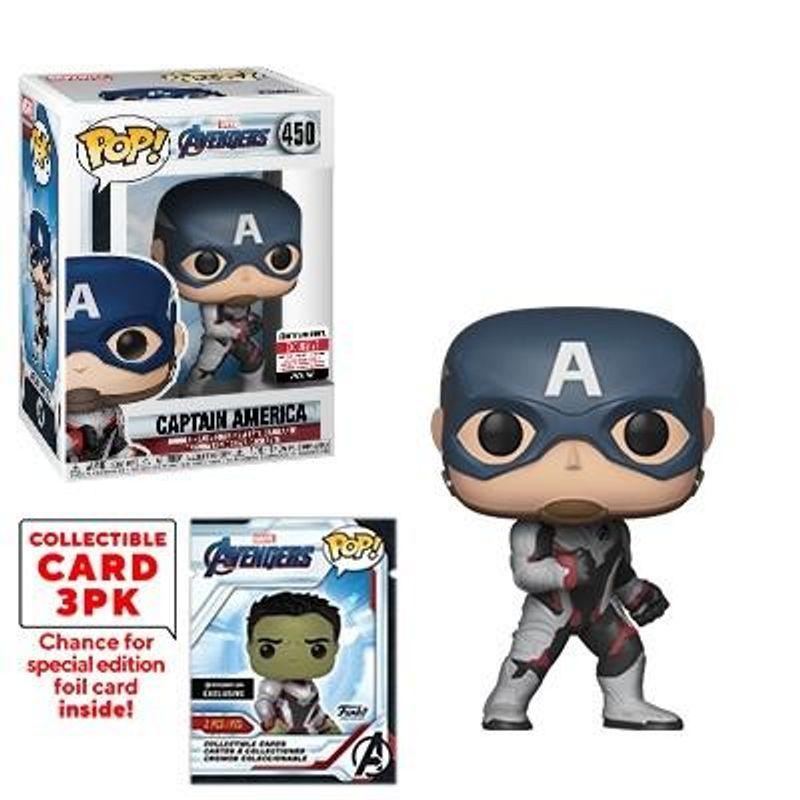 Captain America  Collectible Card 3PK
