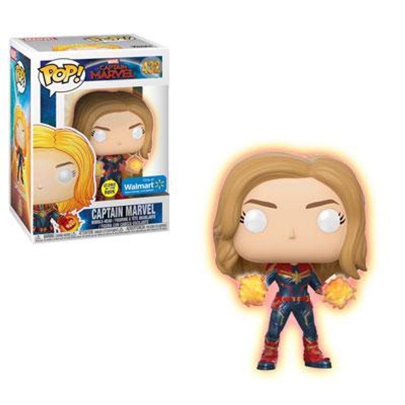 Captain Marvel (Glow in the Dark)