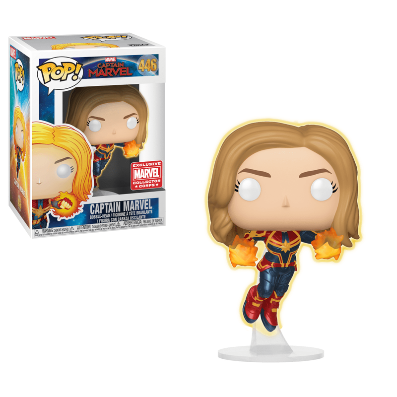 Captain Marvel (Flying) (Unmasked)