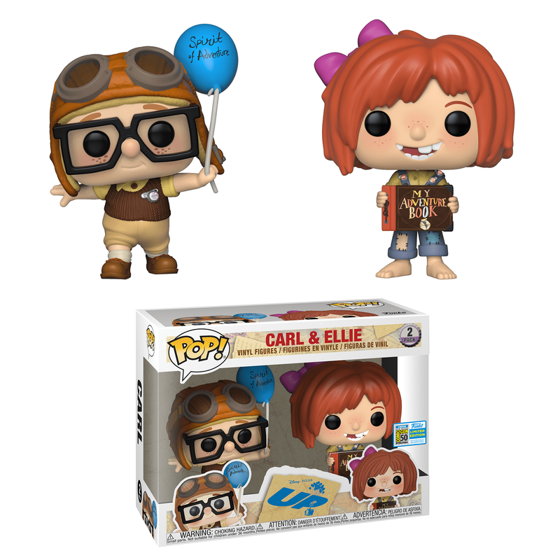 Carl & Ellie (2-Pack) [SDCC]