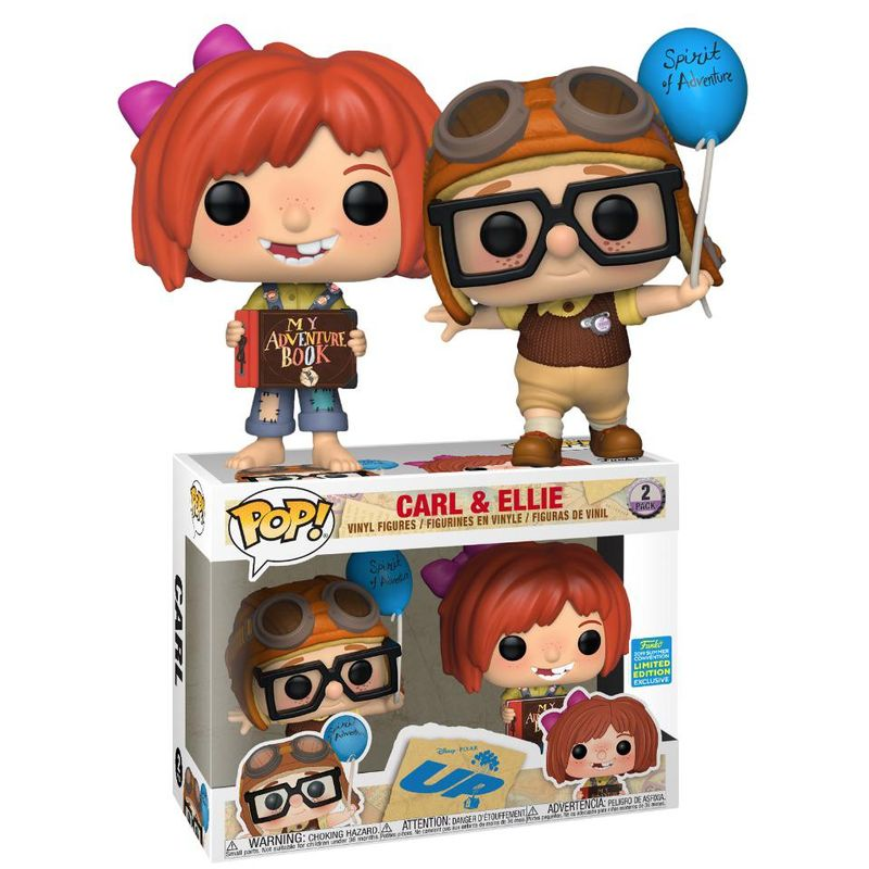 Carl & Ellie (2-Pack) [Summer Convention]