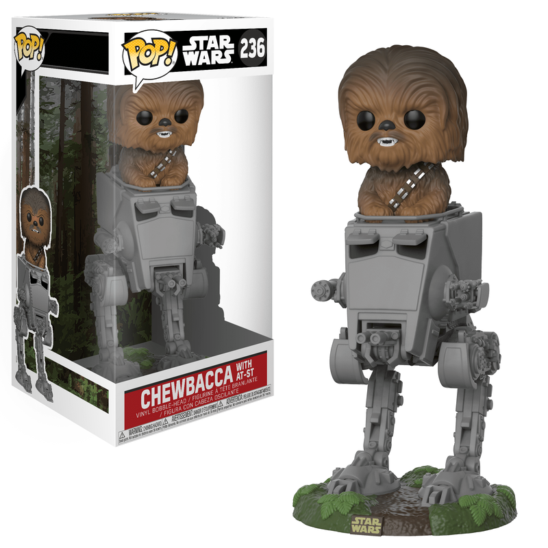 Chewbacca with AT-ST