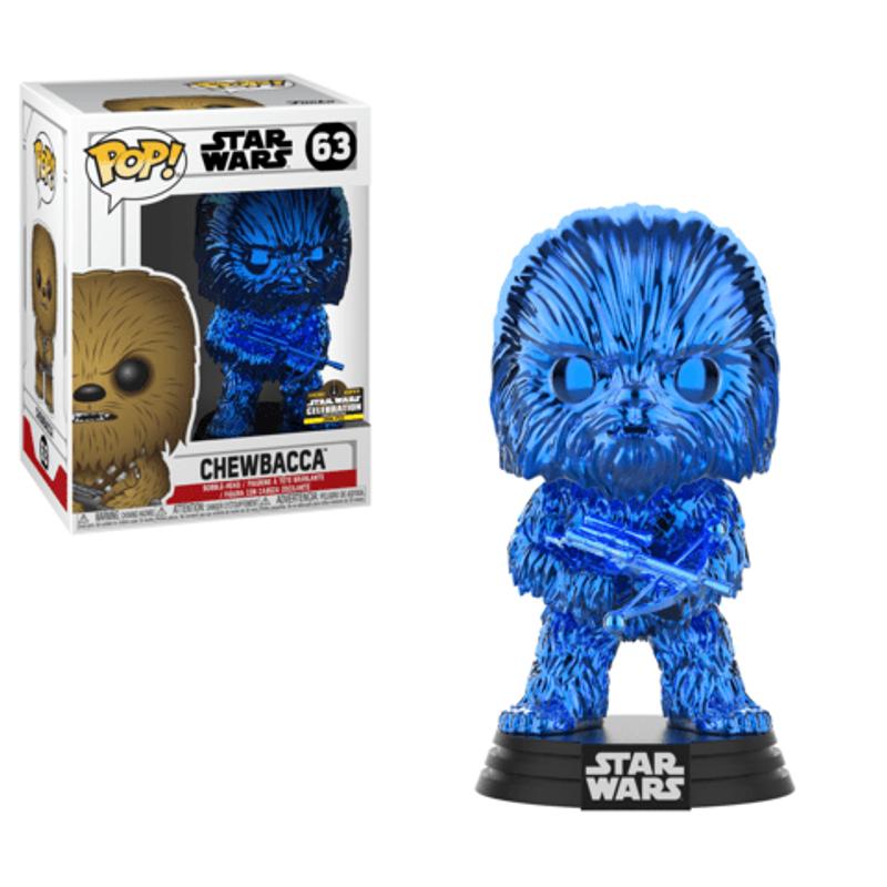 Chewbacca (Blue Chrome) [Celebration]