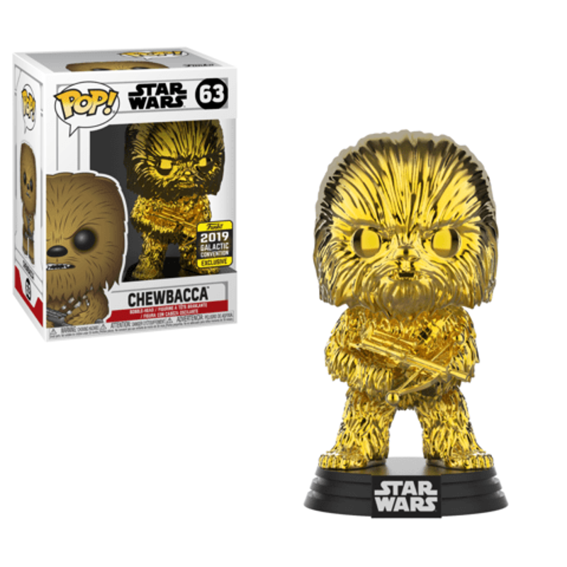 Chewbacca (Gold Chrome) [Galactic Convention]