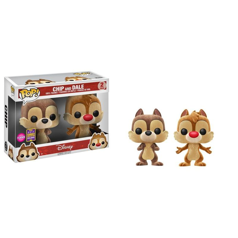 Chip and Dale (Flocked) (2-Pack) [Summer Convention]