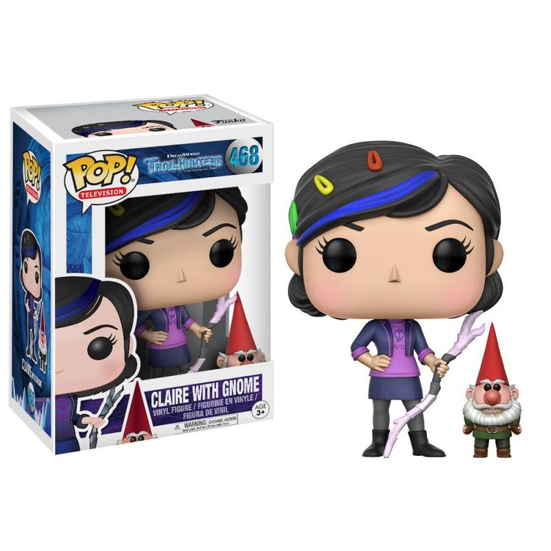 Claire with Gnome (Trollhunters)