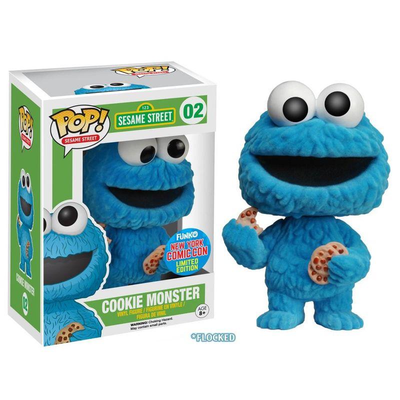 Cookie Monster (Flocked)