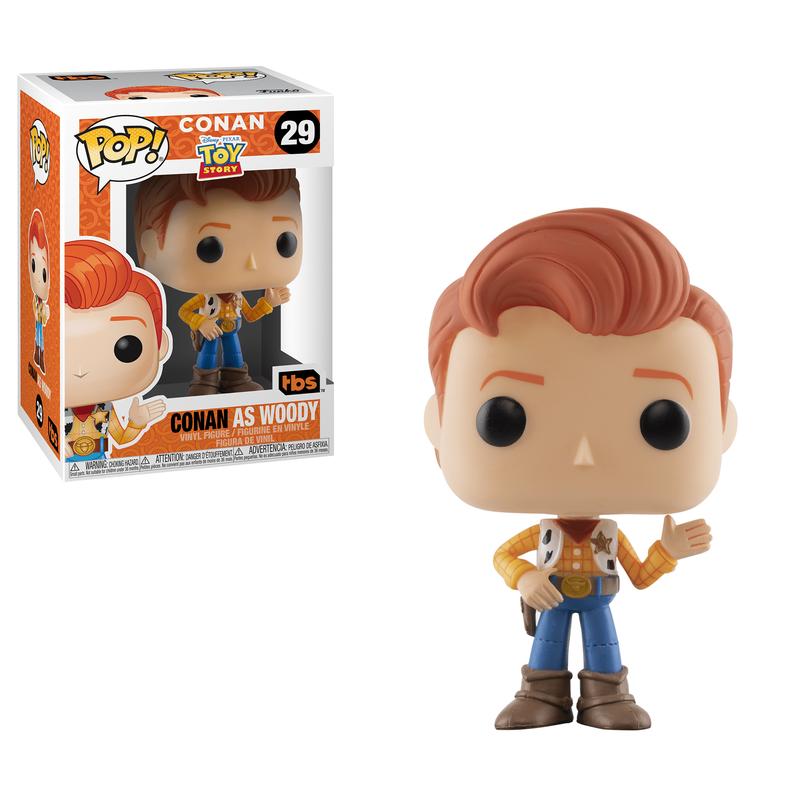 Conan as Woody
