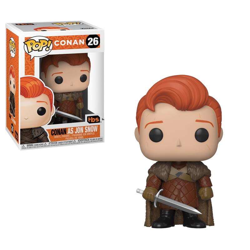 Conan as Jon Snow