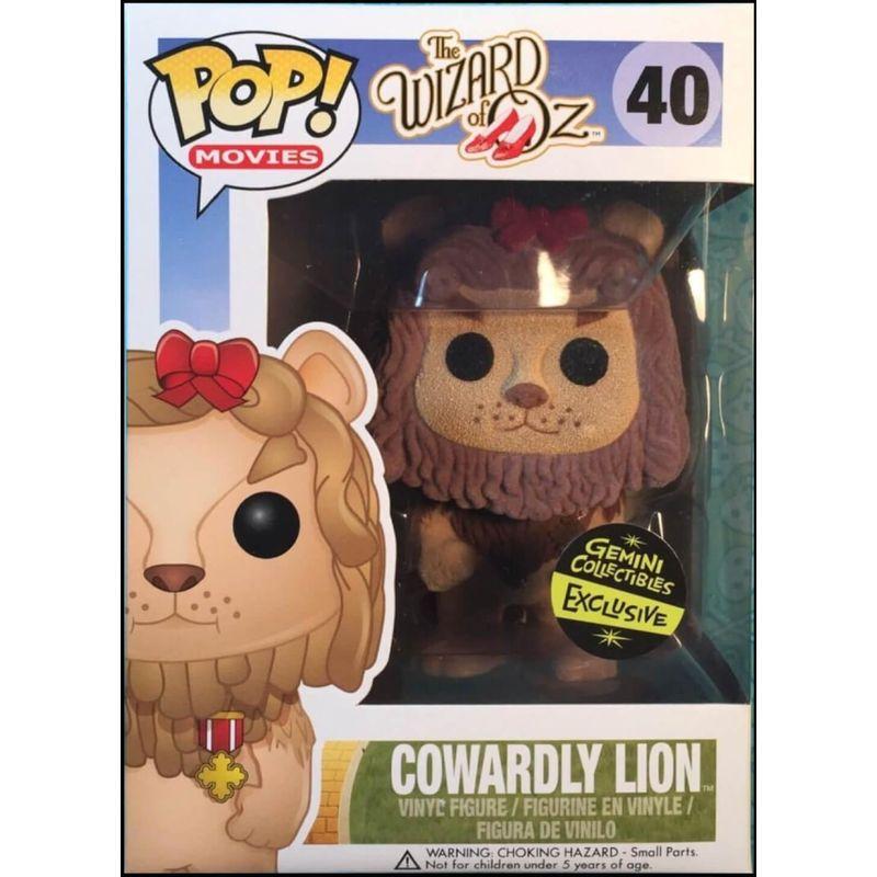 Cowardly Lion (Flocked)