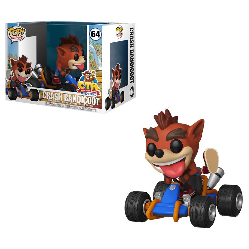 Crash Bandicoot (Crash Team Racing)
