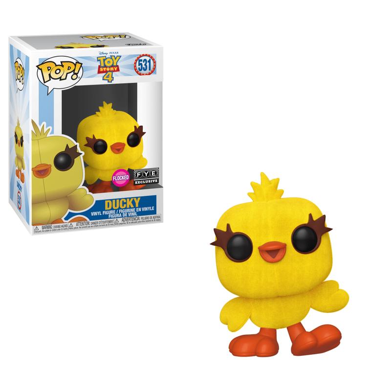 Ducky (Flocked)