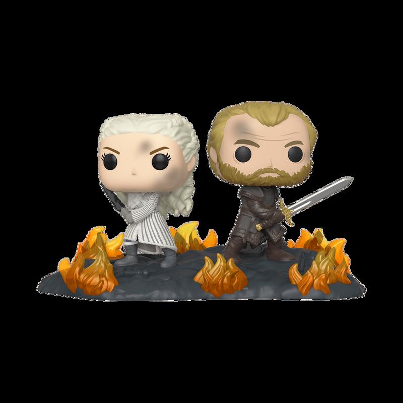 Daenerys & Jorah with Swords