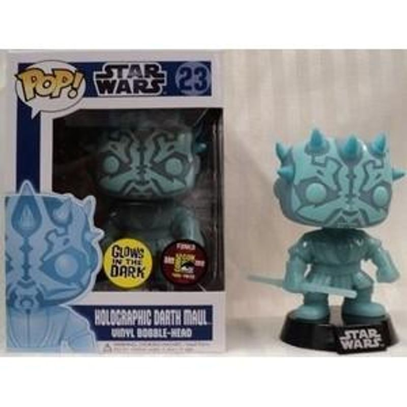 Holographic Darth Maul