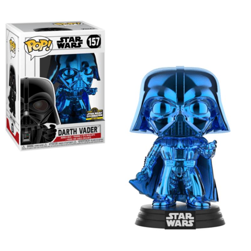 Darth Vader (Blue Chrome) [Celebration]