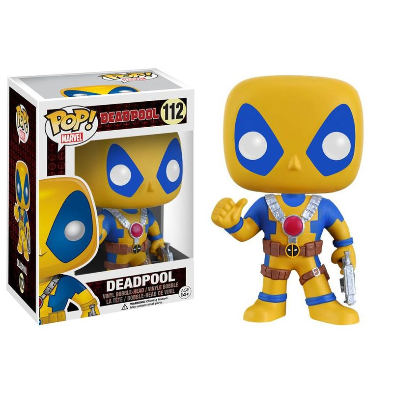 Deadpool (Movie) (Thumbs Up) (Yellow)