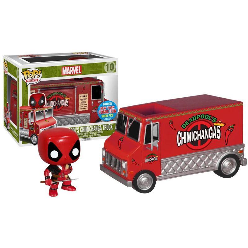 Deadpool's Chimichanga Truck (Red)