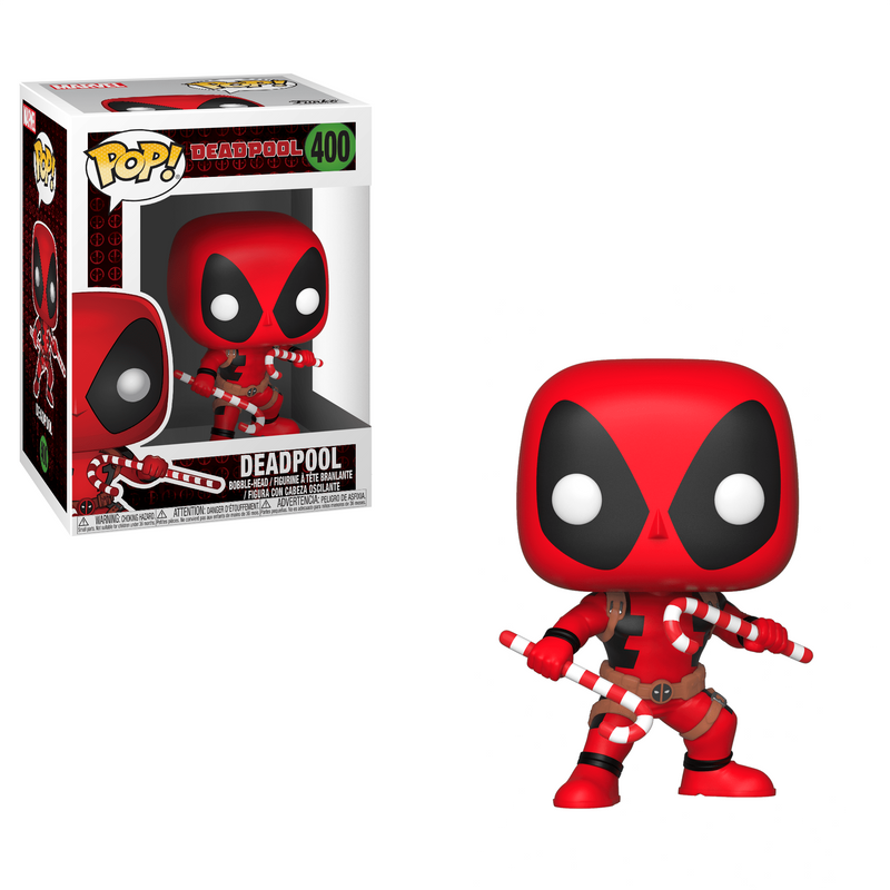 Deadpool (With Candy Canes)