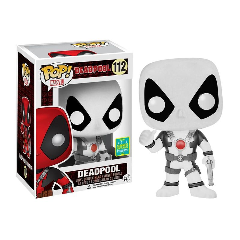 Deadpool (Movie) (Thumbs Up) (White)