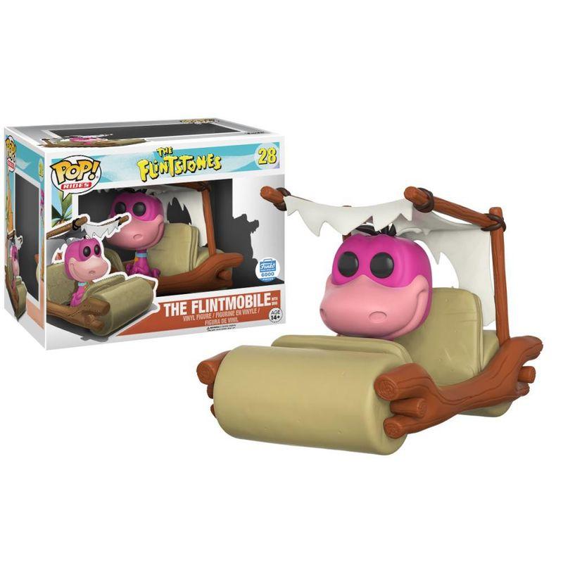 The Flintmobile (With Dino)
