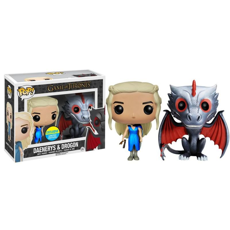 Daenerys (Mhysa) & Drogon (Metallic)