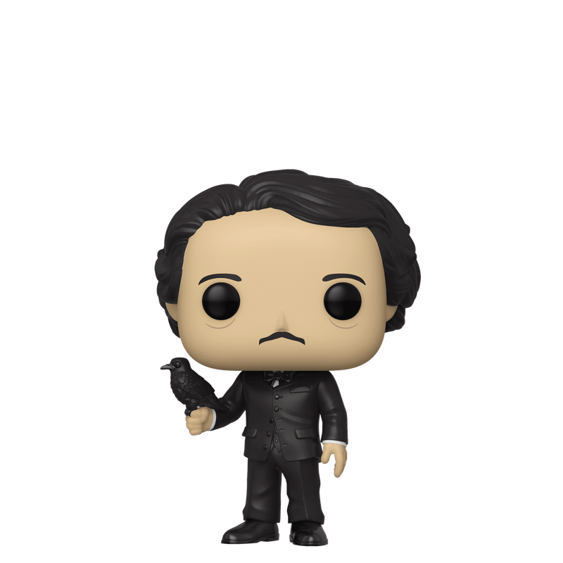 Edgar Allan Poe (w/ Crow)
