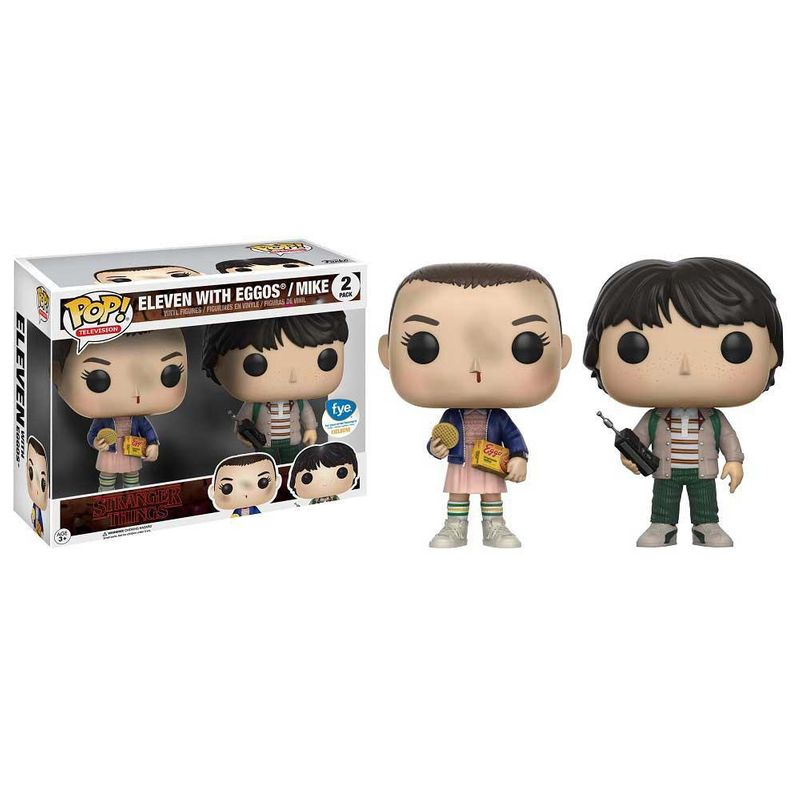Eleven with Eggos & Mike (2-Pack)