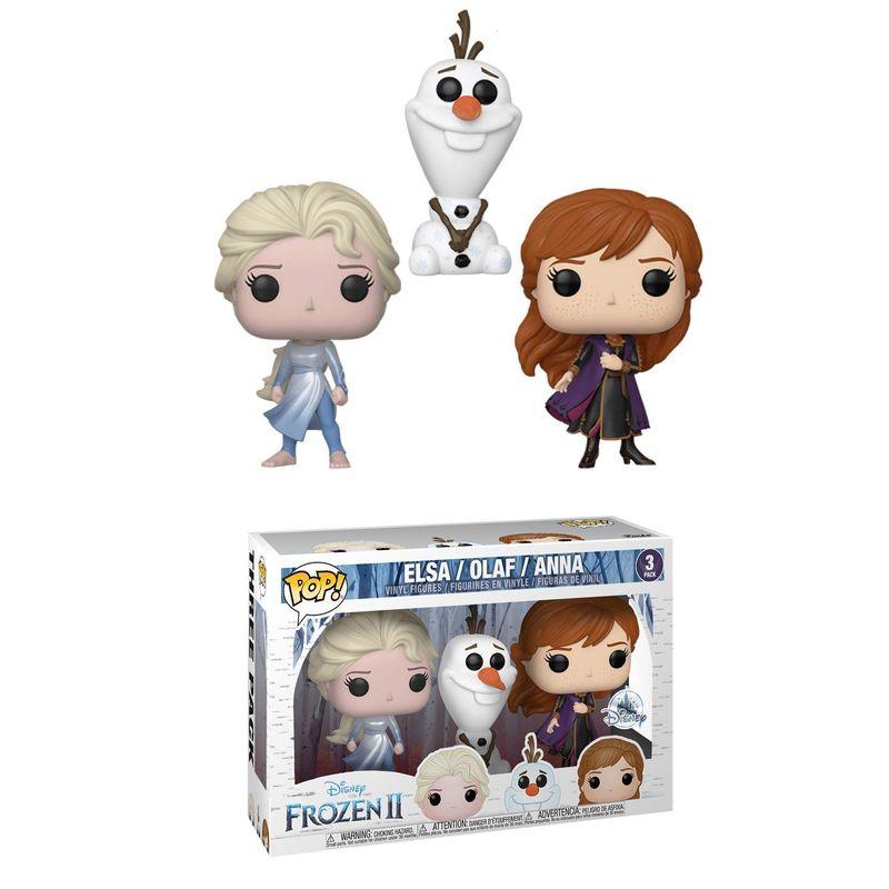 Elsa (Dark Sea) / Olaf / Anna (Frozen 2) (3-Pack)