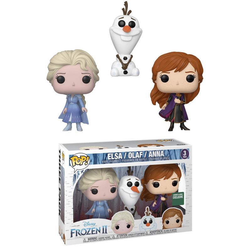 Elsa / Olaf / Anna (Frozen 2) (3-Pack)