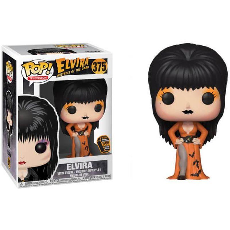 Elvira (Orange Dress)