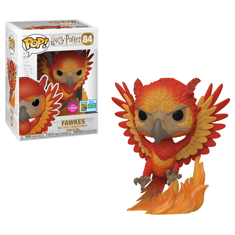 Fawkes (Flocked) [SDCC]