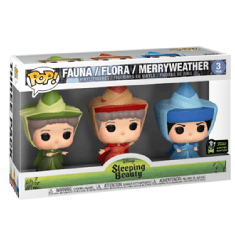 Fauna/ Flora/ Merryweather- 3 Pack