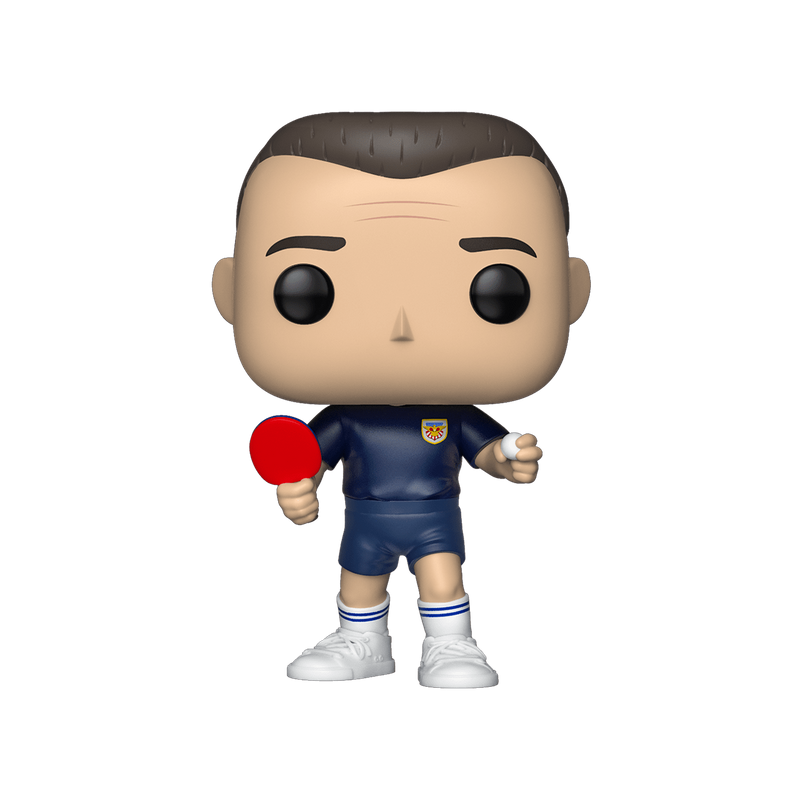 Forrest Gump (Ping Pong) (Blue) with Ping Pong Paddle