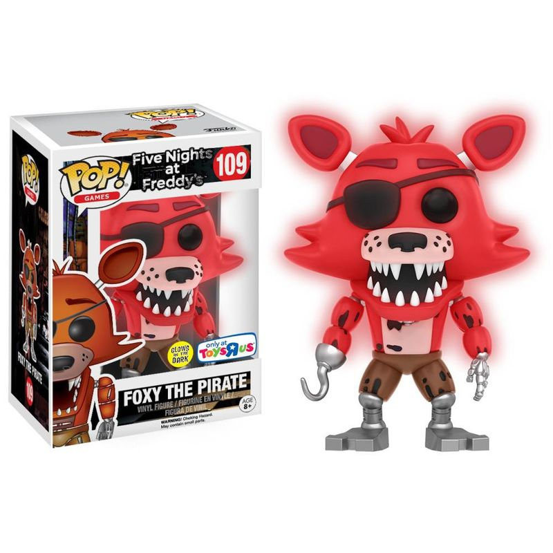 Foxy the Pirate (Glow in the Dark)