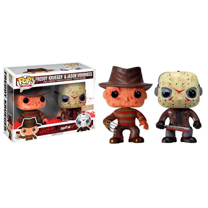 Freddy Krueger & Jason Voorhees (Bloody) (2 Pack)