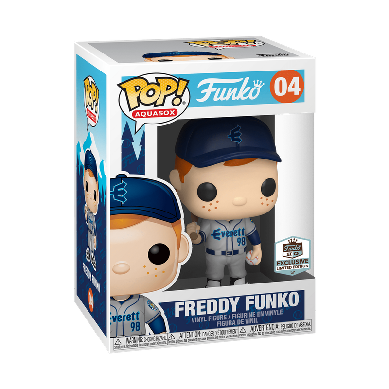Freddy Funko (Grey Aquasox Jersey)
