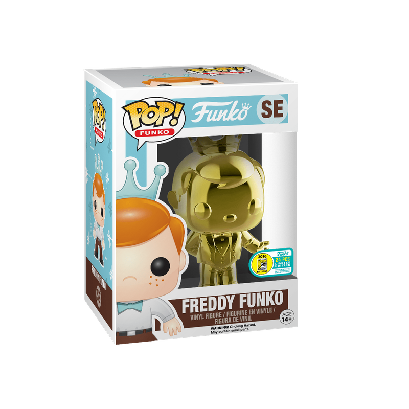Freddy Funko (Tuxedo) (Gold)