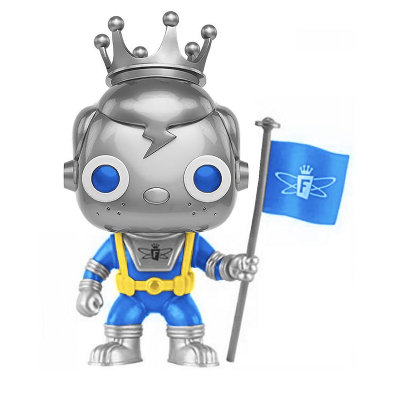 Freddy Funko (Space Robot) (Silver)