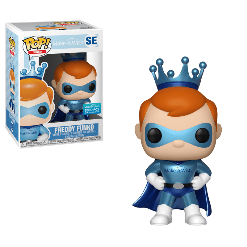 Freddy Funko (Superhero) (Make A Wish)