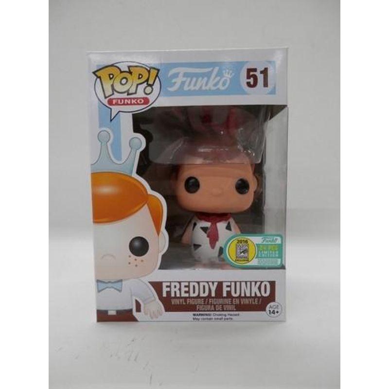 Freddy Funko as Fred Flintstone (White)