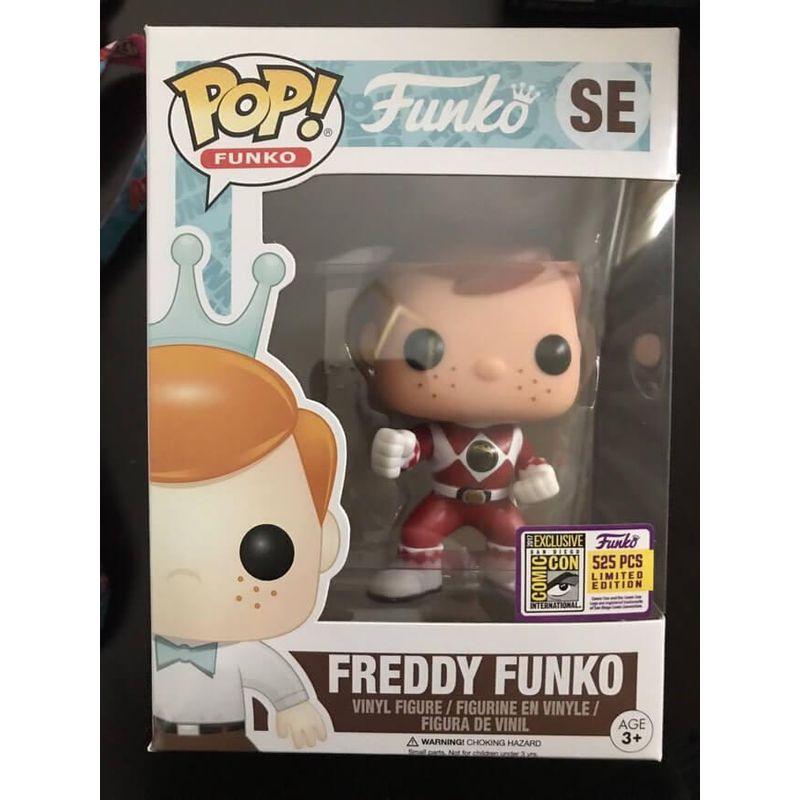 Freddy Funko (Red Ranger)