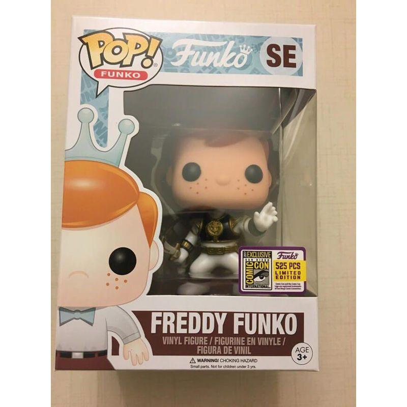 Freddy Funko (White Ranger)