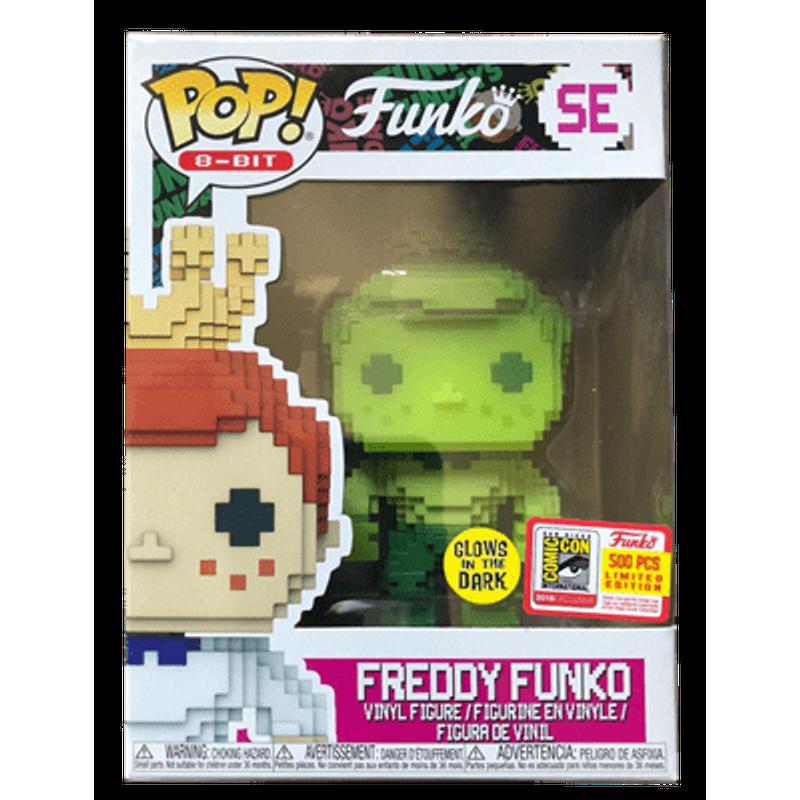 Freddy Funko (Green Glow)
